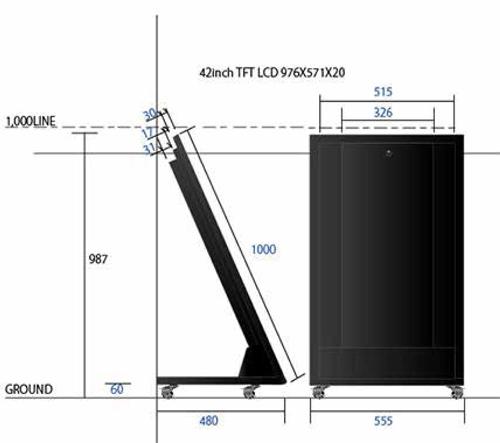 VSNO-42 42インチ 図面